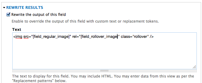 4. Configure Regular image field
